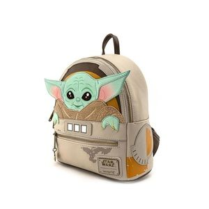 Loungefly Child Backpack & Unknown Specie Keychain